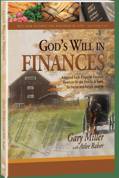 God's Will in Finances