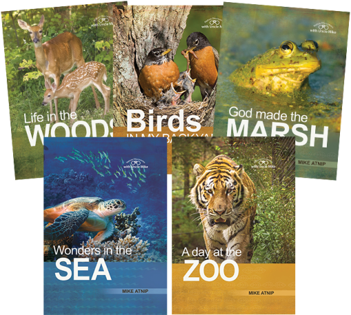 Nature Discoveries Five Book Value Pack
