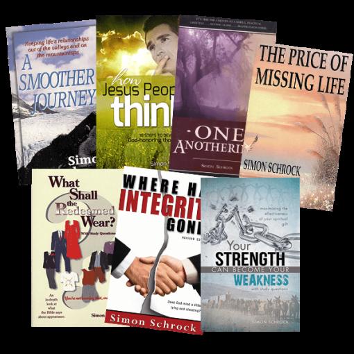 Simon Schrock Seven Book Value Pack