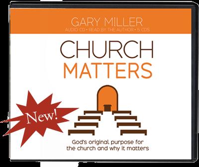 Church Matters Audio CD