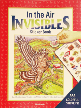 In the Air Invisibles Sticker Book