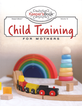 Child Training for Mothers