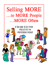 Selling MORE is the key to profits