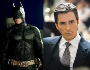 Christian Bale - Batman Begins (2005), Dark Knight (2008), & Dark Knight Rises (2012)