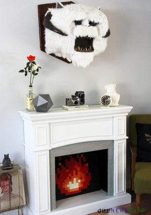 Wampa, Zelda flame, Bowie (et. al.) - the cornerstones to any successful living space.