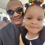 Future Miss World? Adorable Photo of Popular Actor, Saint Obi and His Beautiful Daughter Melt Hearts