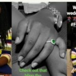 E NEWS: Falz's Younger Sister, Fola, Gets Engaged! (photos)