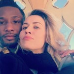 Mikel Obi's Girlfriend, Olga Diyachenko Replies Trolls After She Was Accused Of Taking Their Children To Worship Buddha