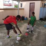 Lol! Timi Dakolo employs personal football trainer for his son after Neymar's deal