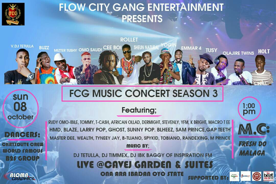 Flow City Gang Music Concert Season 3 || @Flowcitygangent