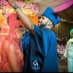 SEE PHOTOS: Banky W & Adesua Wed In Grand Style