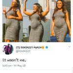 Lmaoo!!! Don jazzy reacts to linda ikeji's being pregnant news