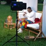 Behind The Scene Photos From YOVI All For You Video Shoot
