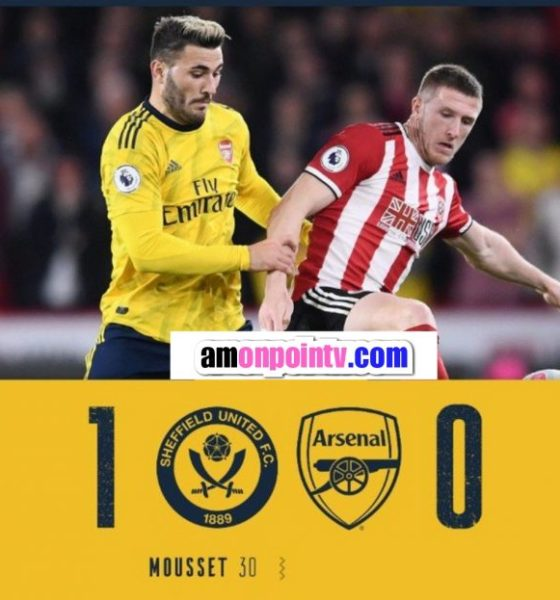 Sheffield vs Arsenal 1-0 – Highlights