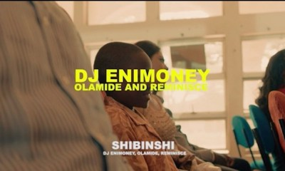 VIDEO: DJ Enimoney – Shibinshi ft. Olamide, Reminisce
