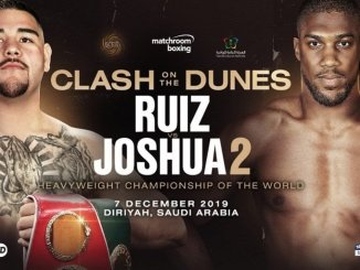 Boxing : Andy Ruiz Jr vs Anthony Joshua 2