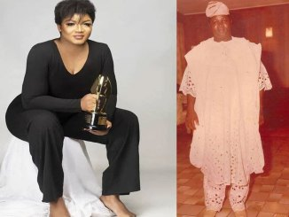 How I Lost My Dad At Age 12′ – Actress Omotola Jalade Shares Sad Story About Father's Death