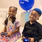 Davido's Daughter, Imade Wishes Tiwa Savage's Son A Happy As She Calls Him Bestie