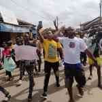 #SARSMUSTENDNOW: Ondo City Residents Join EndSARS Protest
