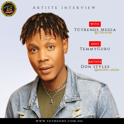 I Can Open a Show For Wizkid - TGtrends Media Interview With Don Stylee