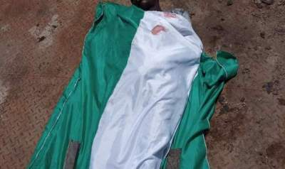 JUST IN: Young boy Protesting #Endsars killed by a Trailer.(See Photos for identification)