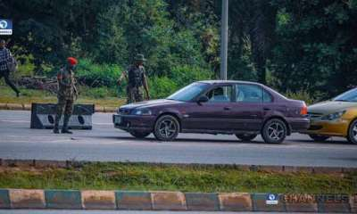 Nigerian Army take over scene of planned #EndSARS protest in Abuja