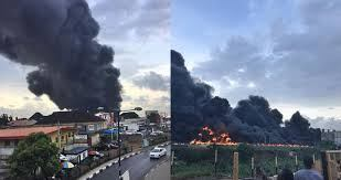 """No life lost"" to fire incident on Otedola Bridge - Police Command in Lagos"