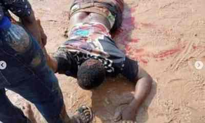 Watch Video Of Soldiers Opening Fire On #EndSARS Protesters In Auchi