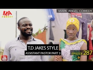 COMEDY VIDEO: T.D. JAKES STYLE (Mark Angel Comedy)