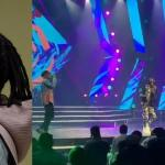 #14thHeadies Award: Laycon Performs Alongside Joeboy And DJ Neptune (Video)