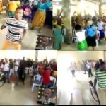 Trending video of church members praying and armed with different weapons to 'attack principalities and powers' (video)