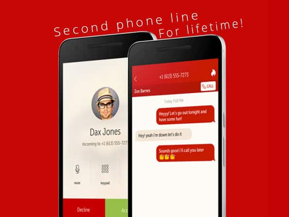 Get a Second Phone Number & Keep Your Real Phone Number Hidden