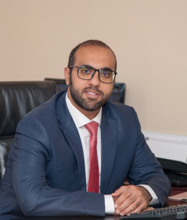 Emirates Zambia Country Manager Mohammad Bin Hafiz