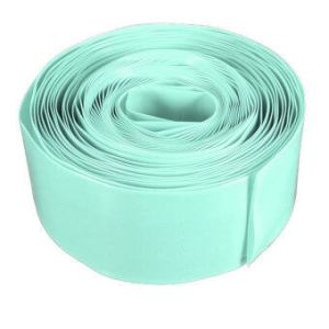 Flat Wide 29.5MM �Ã�Ž�Â�¦18.5MM Round 5M PVC Heat Shrink Tubing for 18650 18500 Battery (Green)