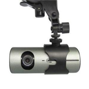 Babybear กล้องติดรถยนต์สองเลนส์ รุ่น R300 FULL HD (สีเงิน)