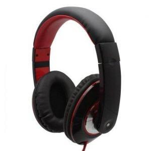 หูฟังสเตอริโอ A-K901MP - Black/Red