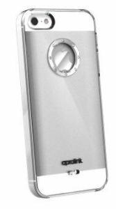 Aprolink เคสฝังเพชร Sworovski สำหรับ iPhone SE / 5S / 5 รุ่น IPF511 Clear