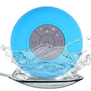 BTS - 06 Water Resistant Shower Bluetooth Speaker (Blue) - intl