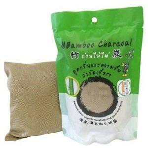 Amazing Bamboo Charcoal ถ่านไม่ไผ่ สำหรับตู้เย็น - สีน้ำตาล (5 ชิ้น)