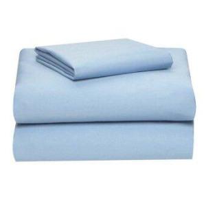 Allertex ชุดผ้าปูเตียงเดี่ยวกันไรฝุ่น 3.5ฟุต 5 ชิ้น - สีฟ้า ( รวมปลอกผ้านวมและผ้านวม )