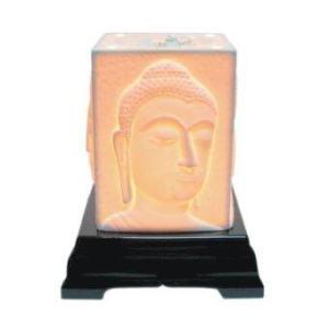 Aroma Space โคมไฟอโรม่า Porcelain Aroma Lamp (Buddha Face)