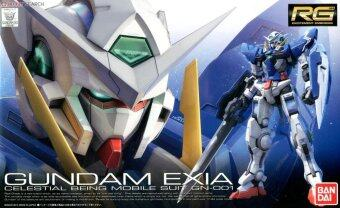 Bandai Gundam กันดั้ม Real Grade (RG) 1/144 GN-001 Gundam Exia