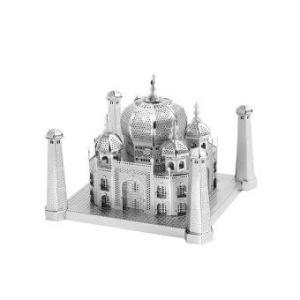 3D Mini Metal Puzzles Taj Mahal - Silver