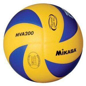 Mikasa ลูกวอลเล่ย์บอล รุ่น MVA200 (สีน้ำเงิน/เหลือง)