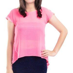 เสื้อชีฟอง Celeb Style in Pink