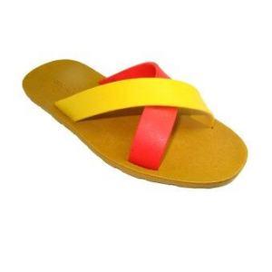 blackOut รองเท้าแตะ BO-1001 - Brown/Red