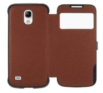 Anymode View Case Saffiano Pattern รุ่น S4 Mini - Brown