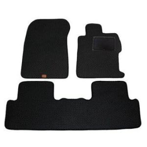 Blackhole Carmat พรมปูพื้น รถยนต์ เข้ารูป 2 ชั้นHonda CIVICปี 2012-ปัจจุบัน Black + Rubber Pad รุ่น JHOCVWBR (สีดำ)