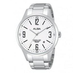 Alba นาฬิกาผู้ชาย รุ่น AS9557X1 - silver