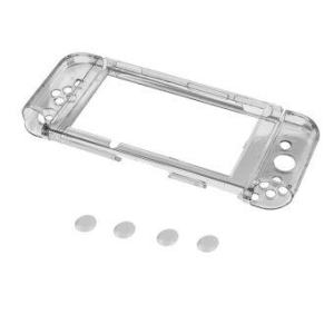 Ultra Thin Clear Shockproof Protective Hard Case for NintendoSwitch - intl